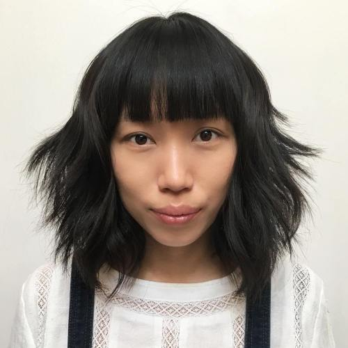 30 Modern Asian Girls' Hairstyles for 20