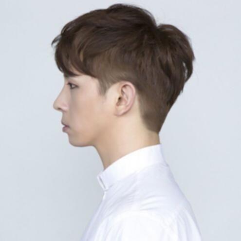 Korean Hairstyles Male short hairstyles for men korean two block .