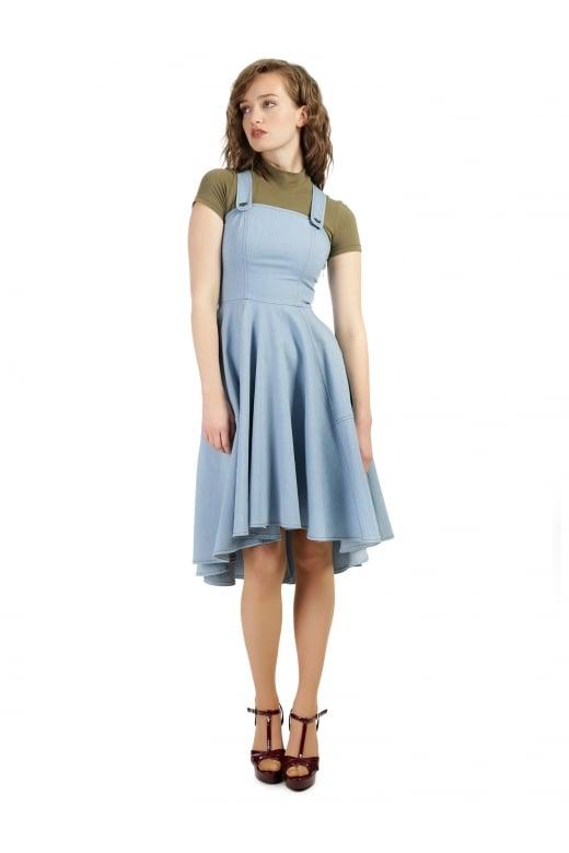Bright & Beautiful Odette Denim Dress - Bright & Beautiful from .