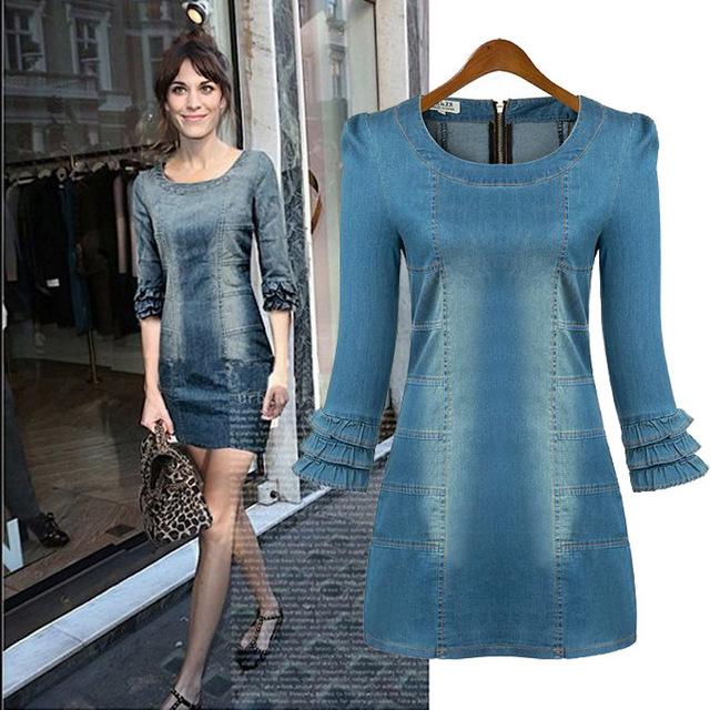 Beautiful Jeans Dresses – ChoosMeinSty