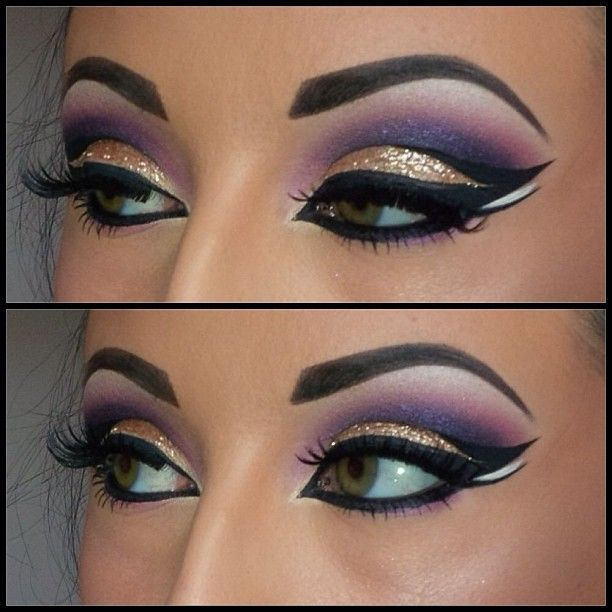 Today we will be talking about step by step Arabian eye makeup .