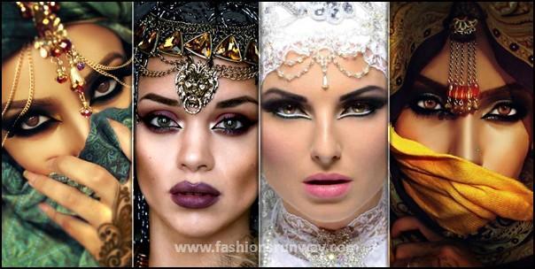 Arabic Makeup Tutorial 2016 - 10 Best Arabian Eye Makeup Loo