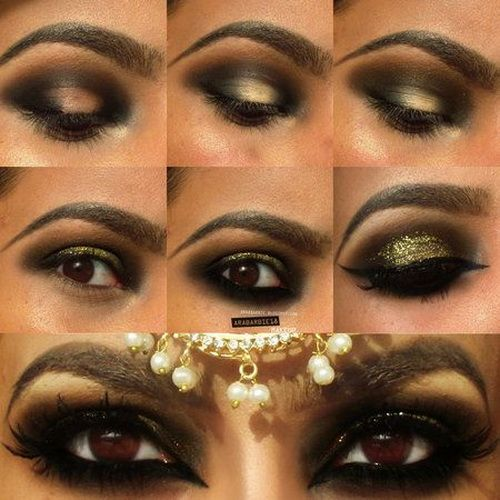 10 Best Arabian Eye Makeup Tutorials With Step by Step Tips .