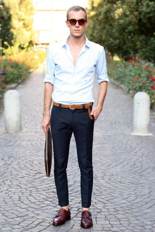 30 Best Men's Outfit Ideas to Wear with Monk Strap Shoes in 2020 .