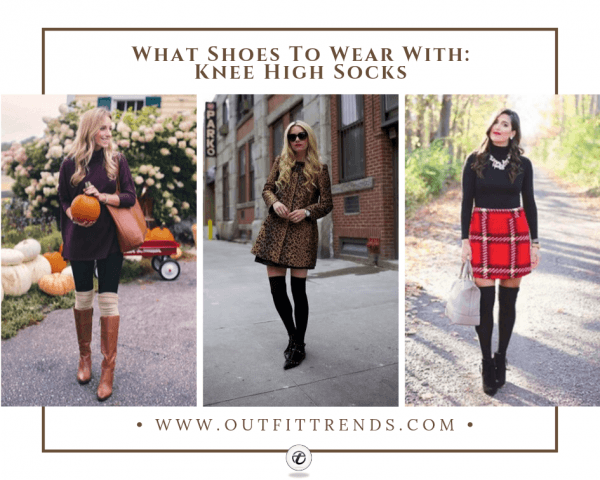 The 10 Best Shoes to Wear with Knee High Socks 20