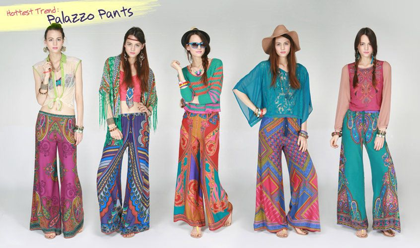 Latest Style Trend - How to wear Palazzo Pants - Touch18   Palazzo .