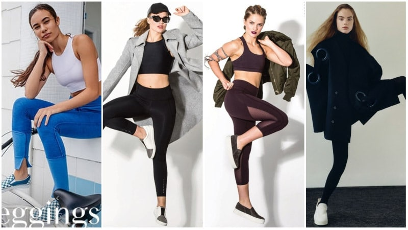 10 Best Shoes to Wear with Leggings - The Trend Spott