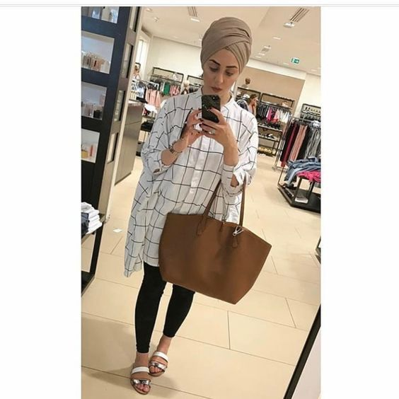 14 Best Summer Hijab Styles & Outfits To Wear For School in 2020 .