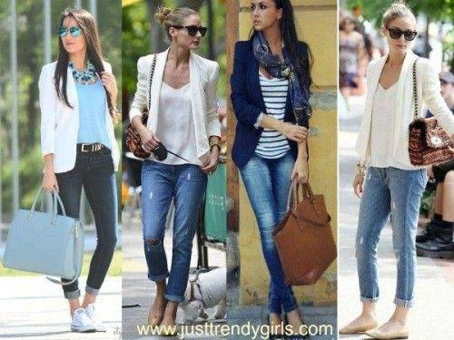 Casual blazers styling ideas | Smart casual women, Smart casual .