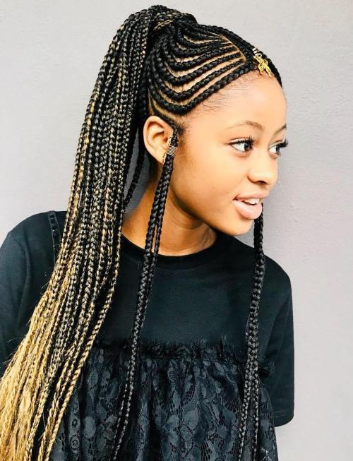 CELEBRITIES PHOTOS — Fulani Braids 2018: Braided Hairstyles you .