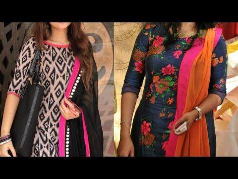 Office wear simple Salwar suit design ideas/Daily wear suit design .