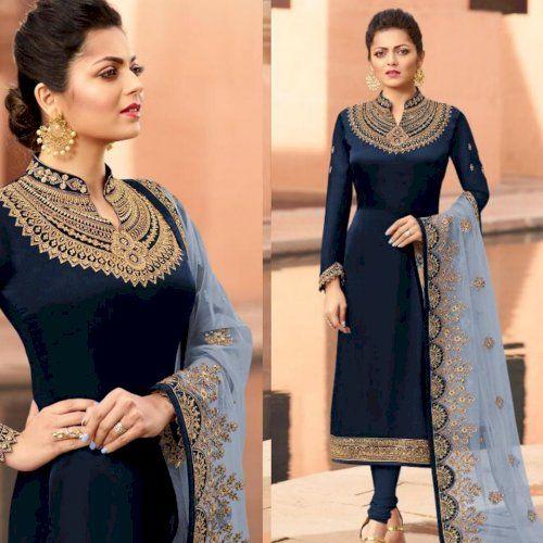 New Designer Party Wear Chudidar Salwar Suit in 2020 | Indian .
