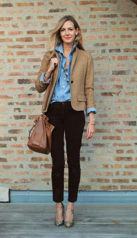 Corduroy Pants Outfits for Women-16 Ideas to Wear Corduroy .