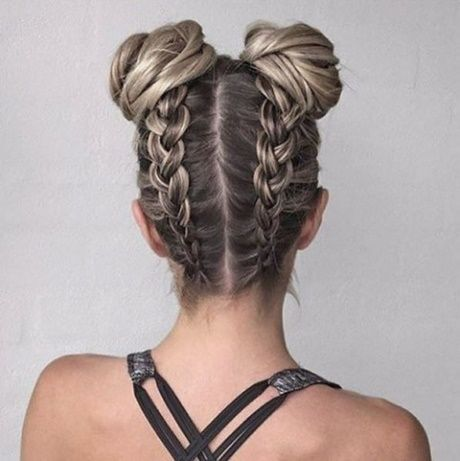 Cute easy braided hairstyles for long hair   Coiffures simples .