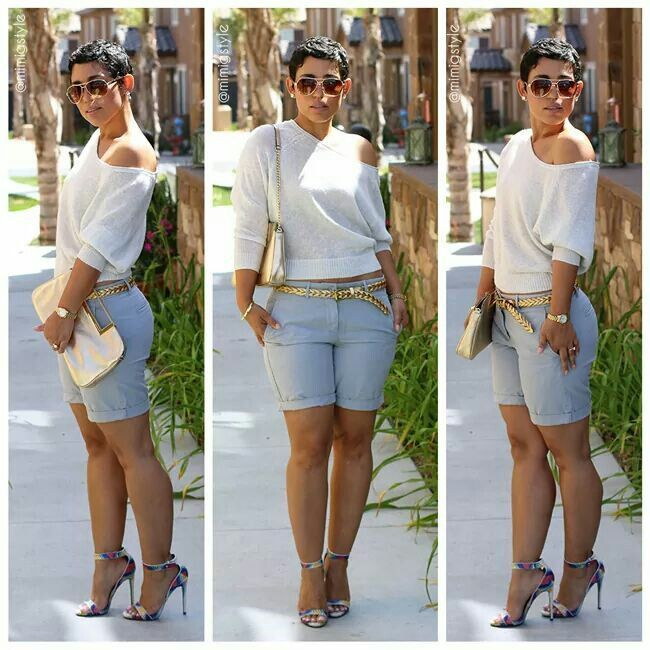 20 Cute Bermuda Short Outfits for Girls for Chic look   Bermuda .