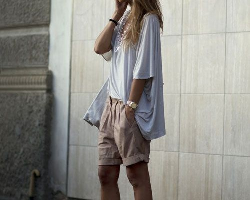 20 Cute bermuda short outfits for Girls for Chic look   Beau