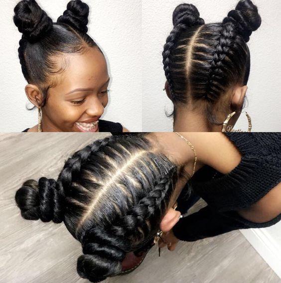 20 cute hairstyles for black teenage girls African Braids .