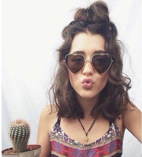 EASY BOHO/GRUNGE/HIPPIE HAIRSTYLES? | Hippie hair, Short curly .