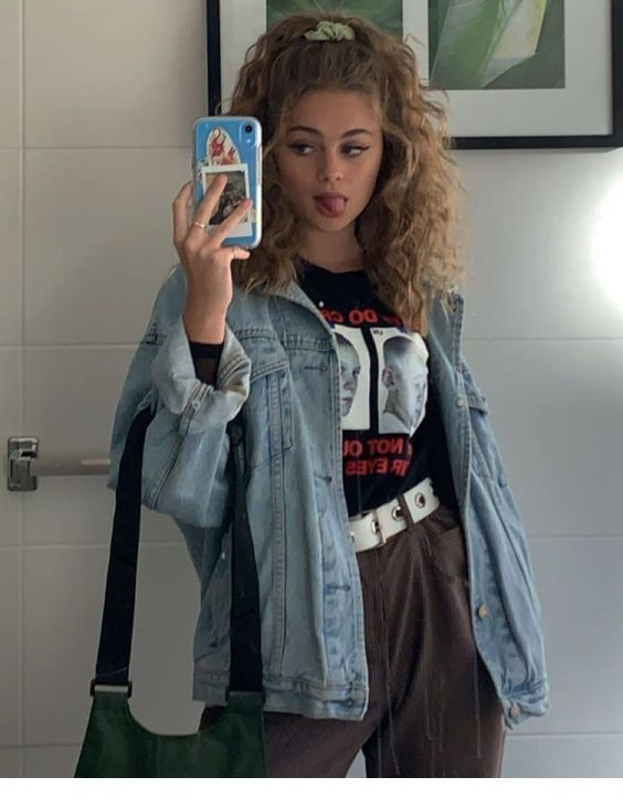 Curly hair, outfit - LadyStyle | Aesthetic clothes, Fashion .