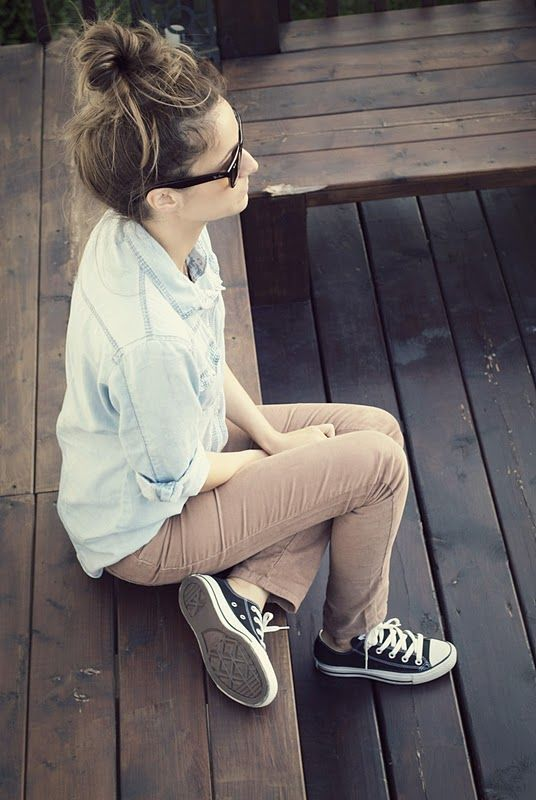 20 Cute Outfits to Wear with Converse Chuck Taylor Shoes   Fashion .