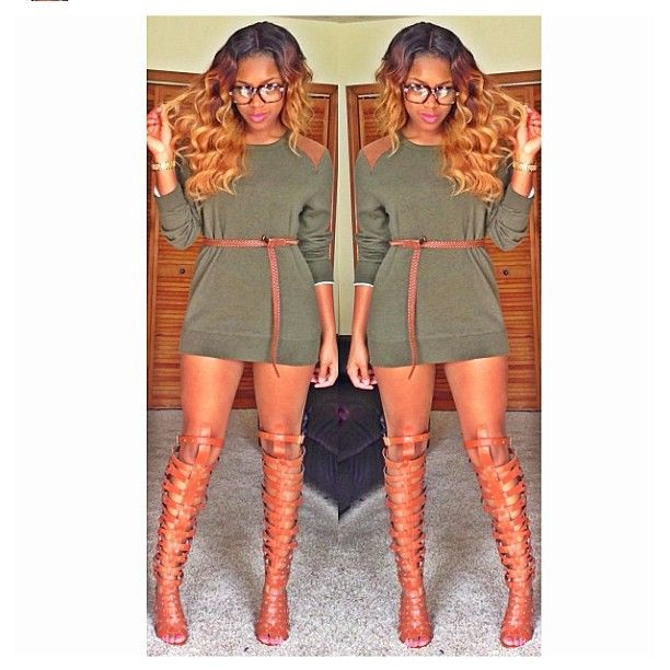 Sweater Dress with gladiator heels | Fashion, Cute outfits, Cloth