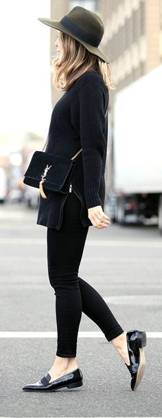 60+ Best Black Loafers images | fashion, style, how to we