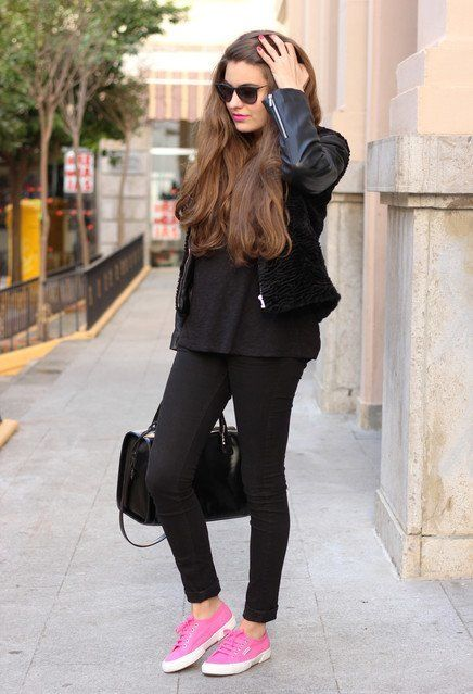 cute outfits to wear with sneakers (3) | Cute outfits with jeans .