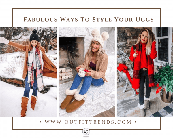 26 Cute Outfits To Wear With Ugg Boots This Wint