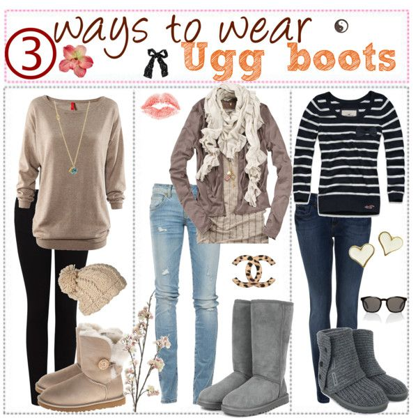 Designer Clothes, Shoes & Bags for Women | SSENSE | Ugg boots, Ugg .