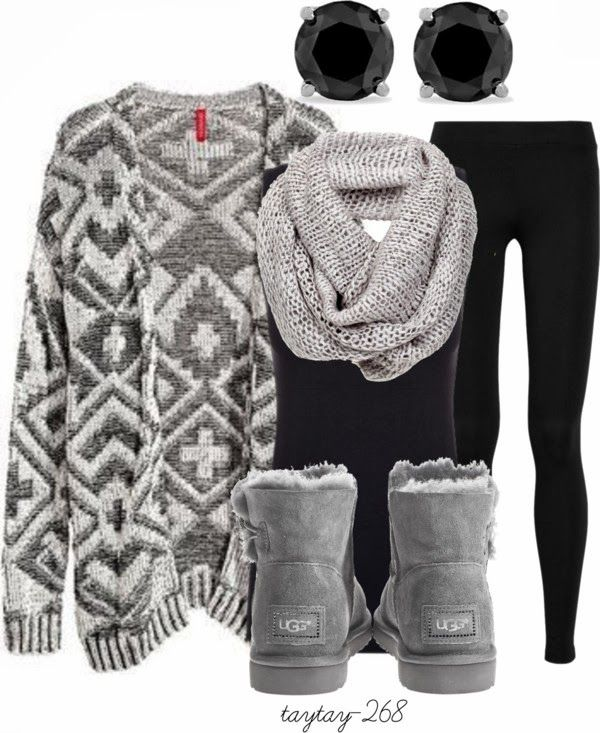 Get Inspired by Fashion: Winter Outfits | Black and Grey- no .