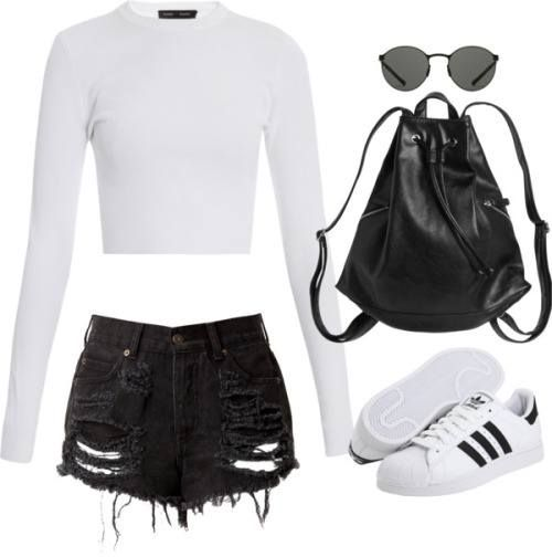 40 Cute Outfits With Adidas Shoes For Girls To Try This Year in .