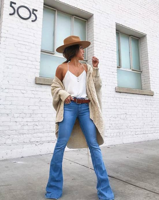 flare-jeans-outfit-min | Ecemel
