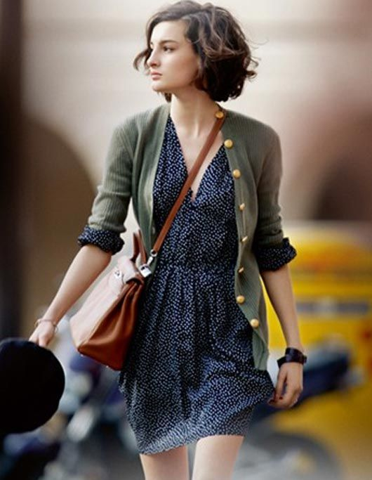30 Cute Outfits that Go With Short Hair-Dressing Style Ide