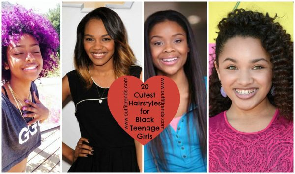 20 Cute Hairstyles for Black Teenage Girls To Try In 20