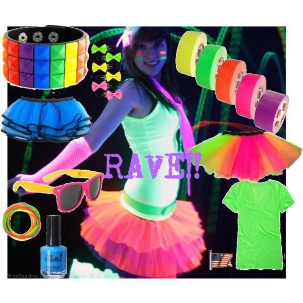 Cute Rave Party Outfits-20 Ideas What To Wear For Rave Party .