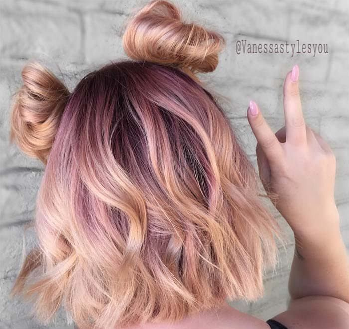 65 Rose Gold Hair Color Ideas: Instagram's Latest Trend | Hair .