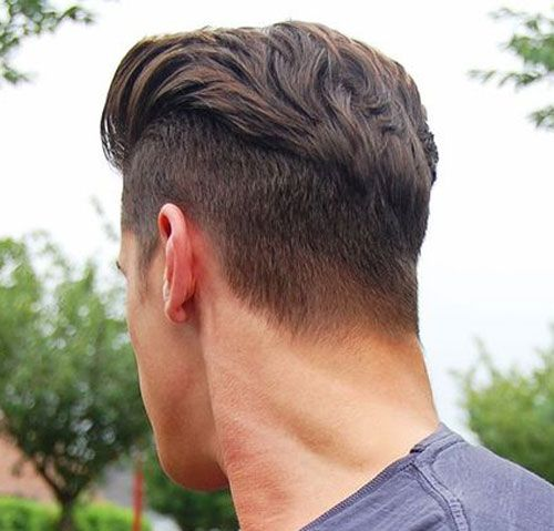 Slicked Back, Disconnected Undercut   Undercut hairstyles, Mens .