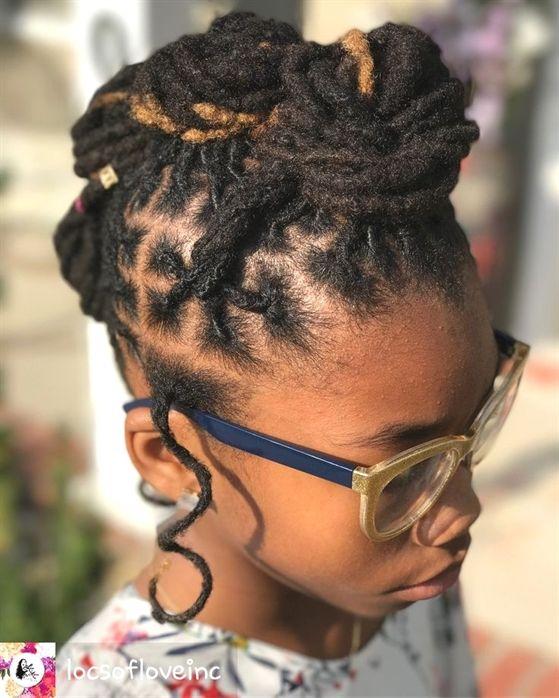 Kendra dreads #BlackWeddingHairstyles   Hair styles, Locs .