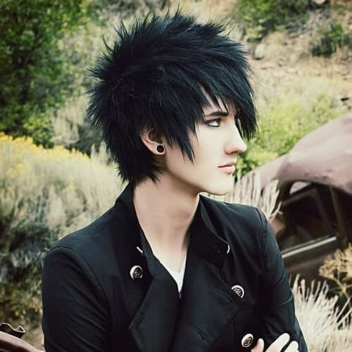 50 Modern Emo Hairstyles for Guys - Men Hairstyles Wor