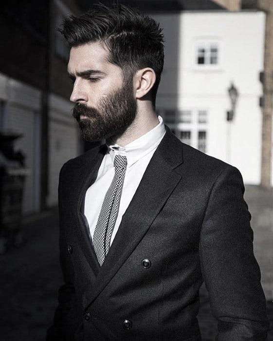 60 Professional Beard Styles For Men - Business Focused Facial Ha