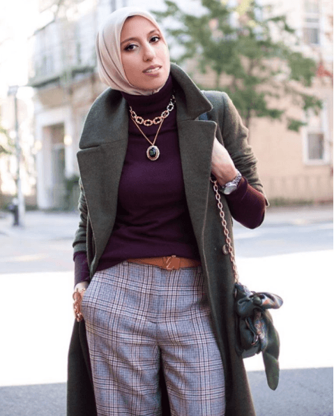 Funky Hijab Style-16 Cool Ideas to Wear Hijab for Funky Look .