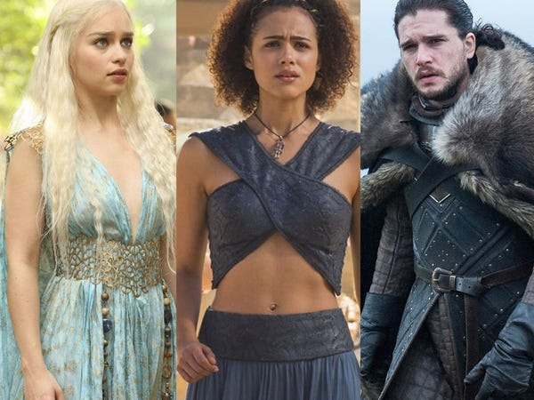 Game of Thrones' best outfits - Insid
