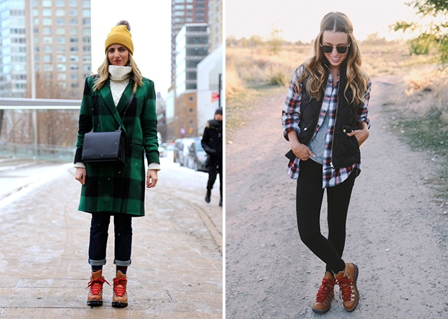 Girls Outfits with Hiking Boots-26 Ways to Wear Hiking Boo