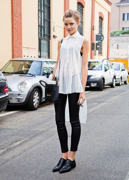 Girls Outfits with Monk Straps-30 Ways to Wear Monk Strap Shoes .