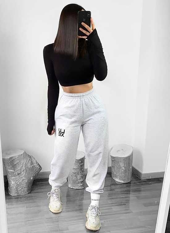 25+ Sporty Girl Outfits to Feel Comfy - Outfit Styl