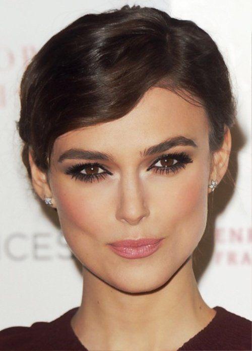 20 Best Celebrity Makeup Ideas for Brown Eyes   herinterest.com .