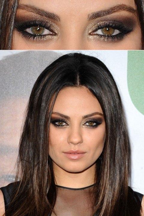 10 Most Gorgeous Celebrities Eye MakeUp Ideas/Secrects - Cheap .
