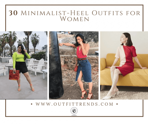 30 Gorgeous Minimalist-Heel Outfits You Need To Try In 20