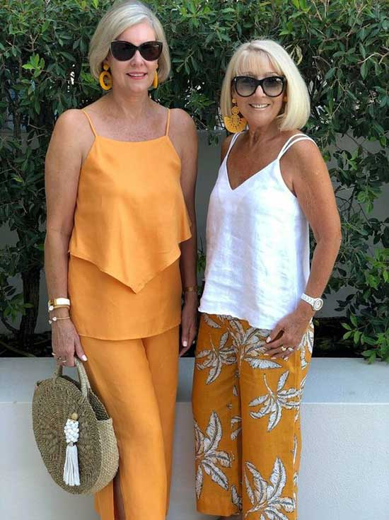 50+ Best Summer Outfits for Women Over 50 - Outfit & Fashi
