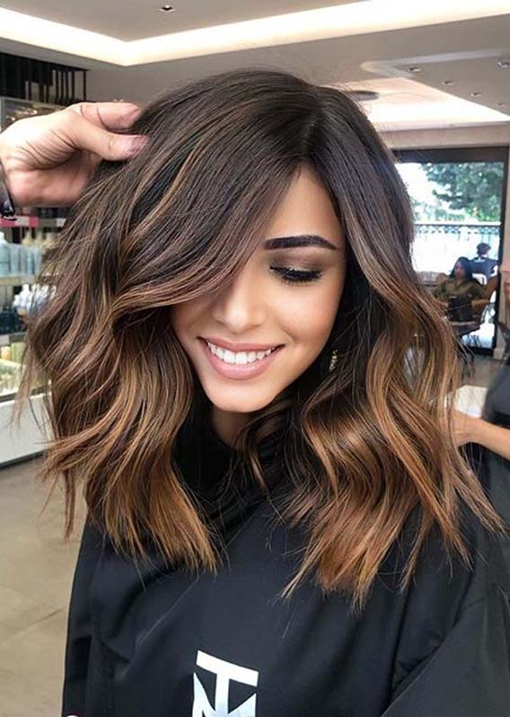 Awesome Chocolate Caramel Hair Color Trends for Women in 20